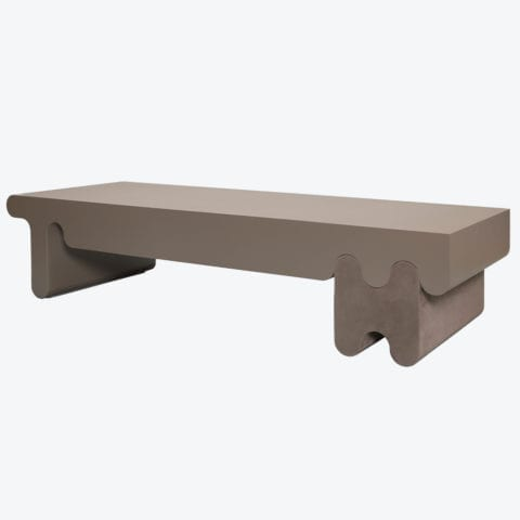 Table Basse Ossicle Cuir