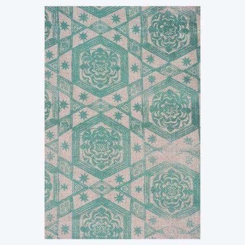 Set of Etoiles Green Napkins