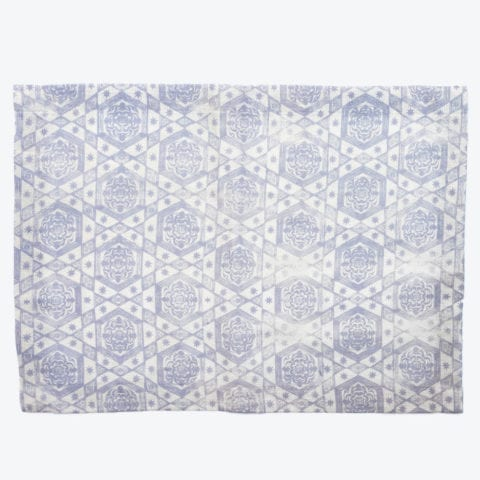 Etoiles Silver Placemat