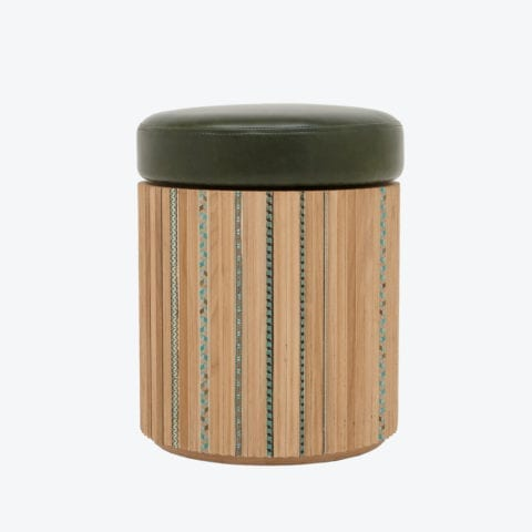 Funquetry Pleated Stool