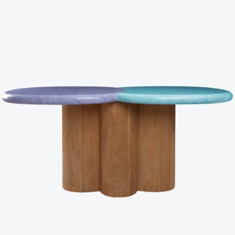 Eclipse Dining Table Double Small