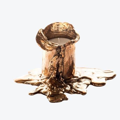 Bougeoir Bronze Fondu N°2