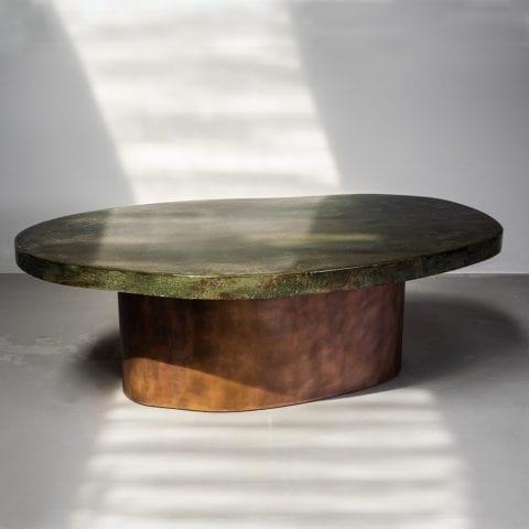 Table Basse Stone – Mousse d'Eau