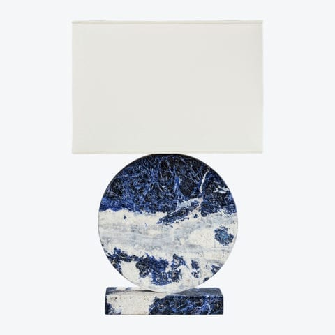 Lampe de Table Lua Sodalite