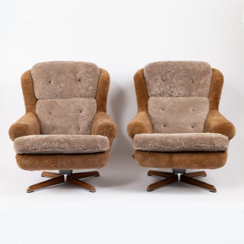Pair of Dux Armchairs