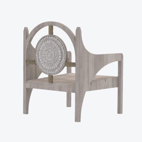 Piatro Mosaic Lounge Chair