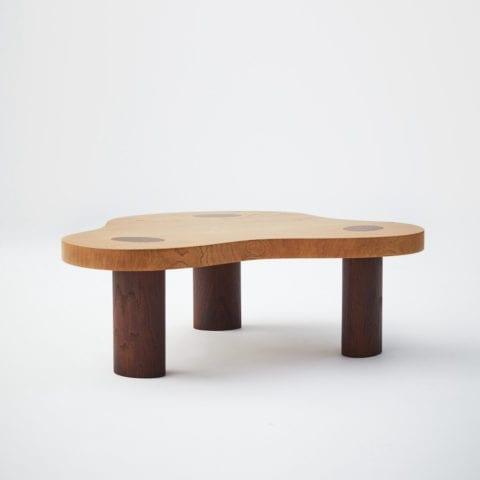 Oak Mini Cloud Table