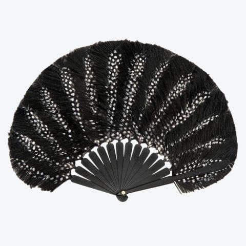 Feather Balloon Dots Hand-Fan