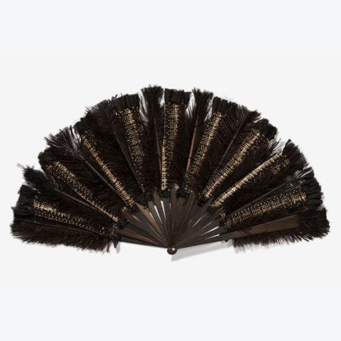 Tweed Hand-Fan