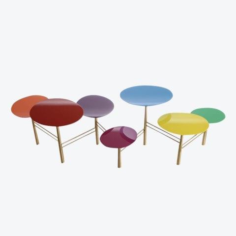 Pebble Coffee Table Smarties
