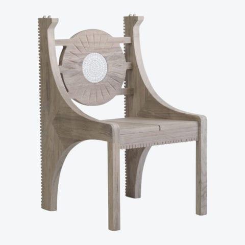 Piatro Mosaic Chair 2