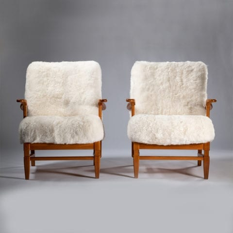 Pair of Gosta Goperts Armchairs