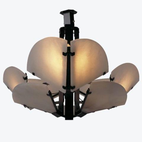 Quart De Rond Ceiling Lamp