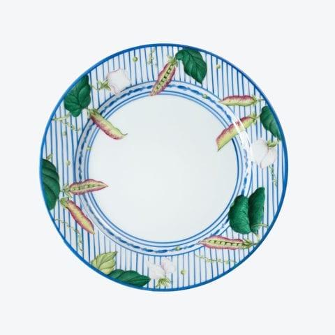 Potager in Blue – Dessert Plate