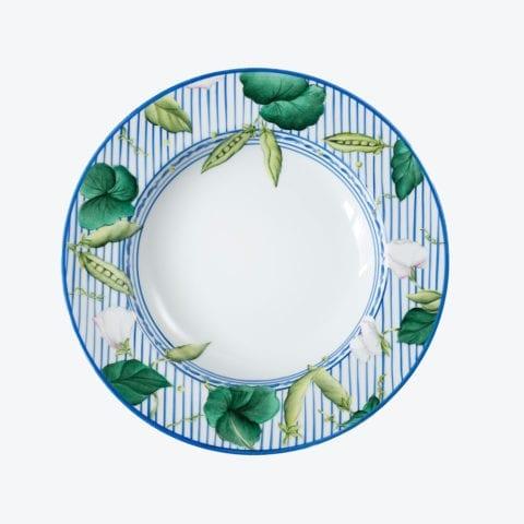 Potager en Bleu – Assiette Soupe