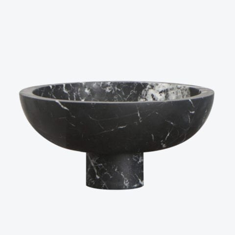 Inside Out Nero Marquina Bowl