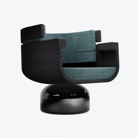 La Nuit Étoilée Lounge Chair