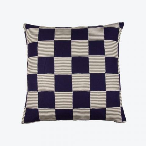 Hot Still Scale Blue Cushion