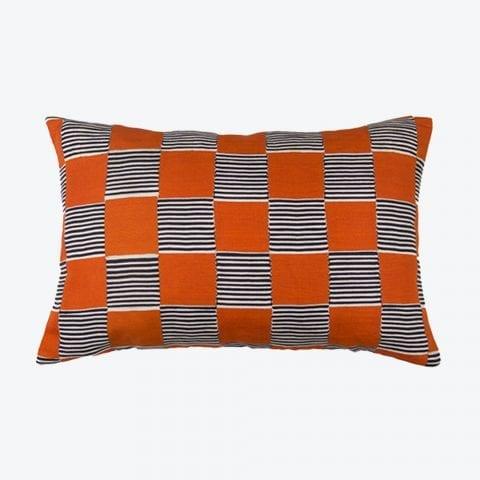 Hot Still Scale Orange Cushion