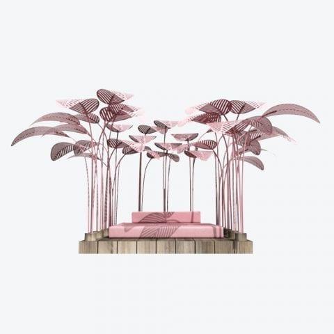Le Refuge Flamingo Rose