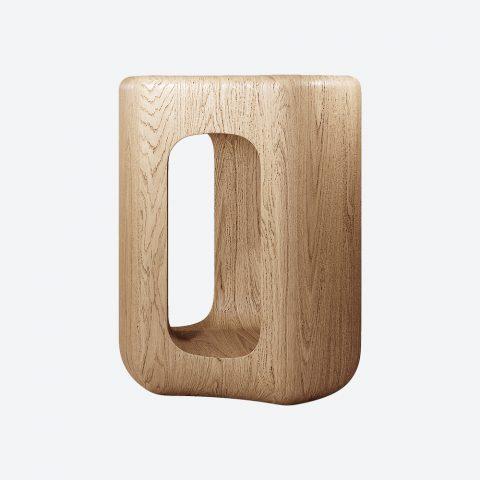 Deepah Oak Side Table