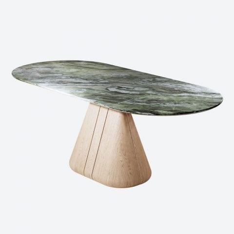 Udukkai Oak Dining Table