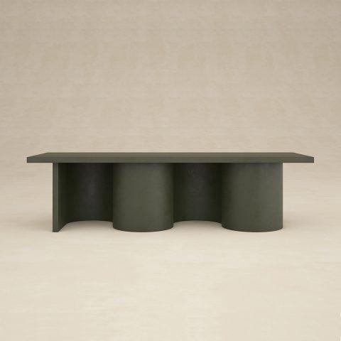 Table Basse Murano Cuir