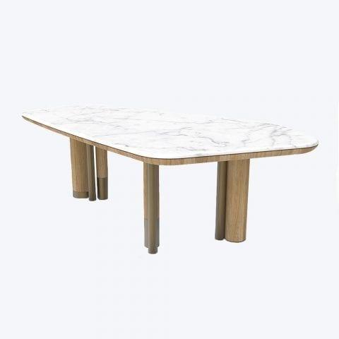Table Lagoa Carrare