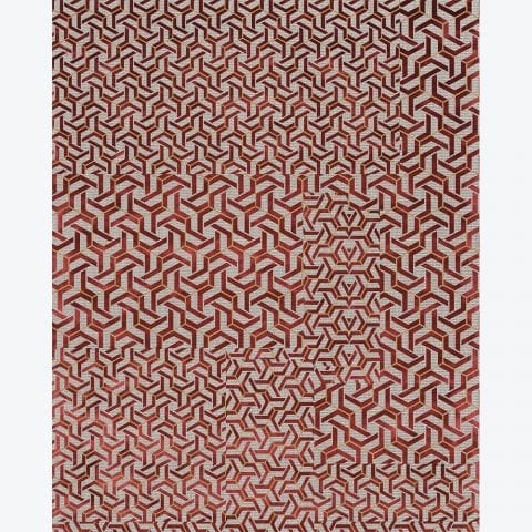 Knotted Terracotta Syros Rug