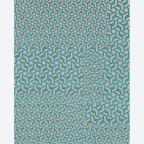 Knotted Azur Syros Rug