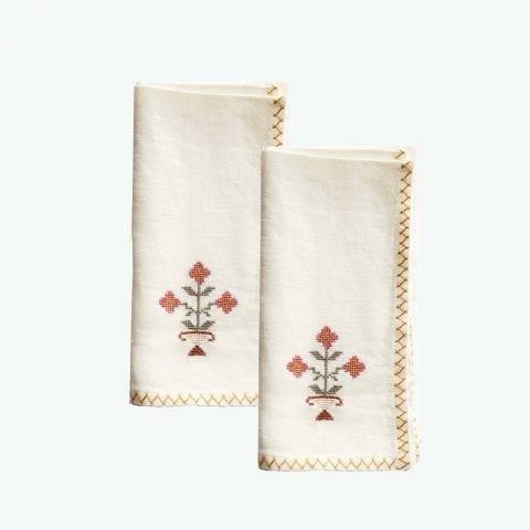 Bouquet Set of Napkins
