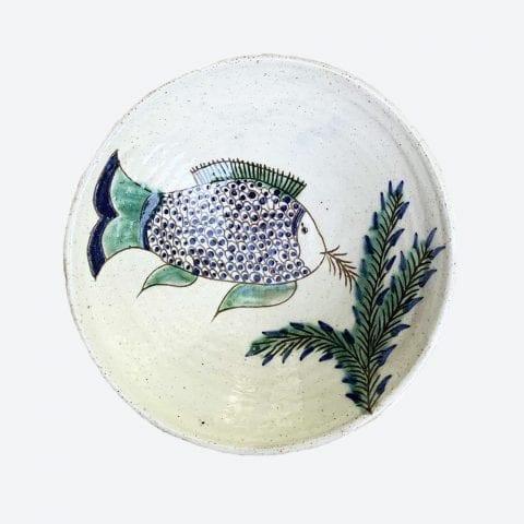 Fish Feeding Bowl