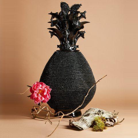 Vase Noir Fantaisie